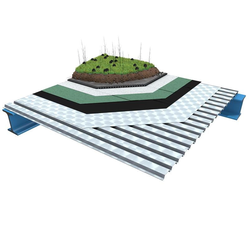 B 2.4.1 Toiture-terrasse sans isolation thermique - Soprema